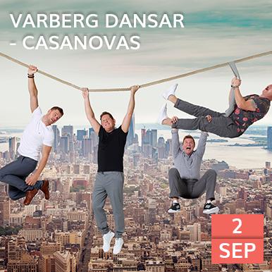 Casanovas kommer till Arena Varberg, Rotundan och bjuder på dansbandsmusik