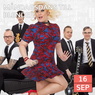 Kom och dansa på Varbergs finaste dansbana när Blender spelar på Arena Varberg, Rotundan.