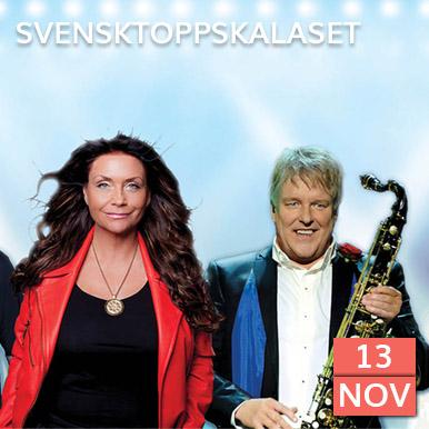 Succéföreställningen Svensktoppskalaset med Nordens största dansbandsartister står återigen klara för en ny konserthusturné.